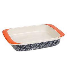 Orla Kiely Linear Stem Lasagne Dish @ John Lewis. 23 gbp. I want!!!