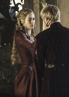 Game of Thrones:  Cersai Lannister and Joffrey Baratheon