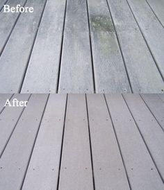 Spray and Clean Composite Deck Cleaner