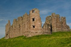 Brough Castle stands at the western end of the Stainmore Pass between County Durham and the Eden Valley of Cumbria. It was erected around the year 1100 on a site used by the Romans. The best preserved feature is an early 14th century stone keep built by Robert Clifford.