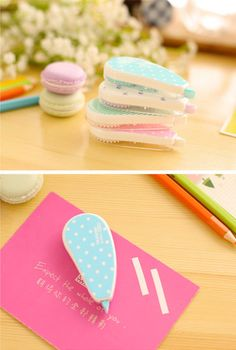 Cute stocking stuffer for fans of pretty stationery! Correction Tape - Polka Dots Lovely Korean Stationery Corrective Tape   Back to School   Kawaii Correction Fluid   Gift Ideas. Great school supplies or home office supplies ideas especially for Japanese and Korean stationery lovers! Buy on Etsy - delivered worldwide! #stationery #cute #kawaii #pastel #stationary #etsy #ad