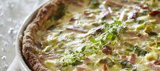 Gluteeniton tomaatti-kinkkupiirakka Pizza Nachos, Gluten Free Recipes, Vegan Recipes, Gluten Free Living, Catering Food, Savory Snacks, Sweet And Spicy, Fodmap, Food Inspiration
