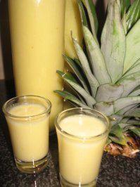 Ananaslikör - Rezept