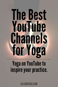 A guide to some of t     A guide to some of the best YouTube channels for yoga. Can't wait to check some of these out for my next workout!  https://www.pinterest.com/pin/300615343856960472/