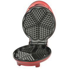 Kalorik Red Heart-shaped Waffle Maker - Overstock™ Shopping - The Best Prices on Kalorik Waffle Makers