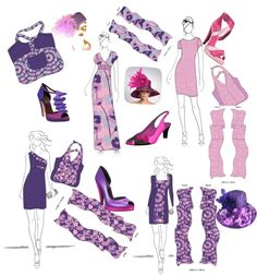 """""""Spring Lavendar"""" by perry-tenitiss on Polyvore"""