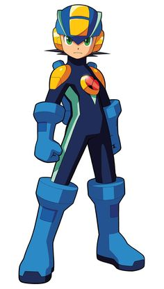 MegaMan.EXE - Characters & Art - Mega Man Battle Network 5