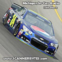 The string of average finishes continued for Jeff at Michigan last week.  Take a listen to this weeks in-car audio clip!  http://www.scannerbytes.com/2015/08/16/jeff-gordon-michigan-in-car-audio-2015/
