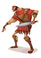 Roman Around - by 2D BEAN