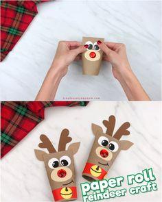 Christmas Bunny, Dollar Tree Christmas, Christmas Crafts For Gifts, Christmas Projects, Christmas Diy, Christmas Decorations, Preschool Arts And Crafts, Diy Arts And Crafts, Craft Projects For Kids