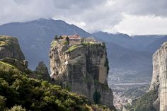 Monastery of the Holy Trinity in Greece. It was built in 1475 and was remodeled many times in 1684, 1689, 1692, 1741.