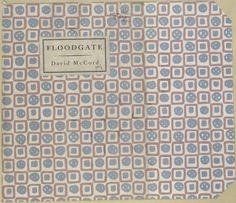 Floodgate by David McCord, 1927