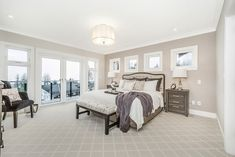 10 Plums by Wallmark Custom Homes, represents a one-of-a-kind opportunity for home buyers who are looking for a new or custom view home in North Vancouver. Serene Bedroom, Master Bedroom, Custom Homes, Oversized Mirror, Bedrooms, Furniture, Home Decor, Master Suite, Decoration Home