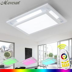 Hot Selling Remote Ceiling Light led for living room with brightness changeable