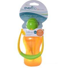 Evenflo Bebek 8-oz Swing Handle Straw Cup, BPA-Free, Orange