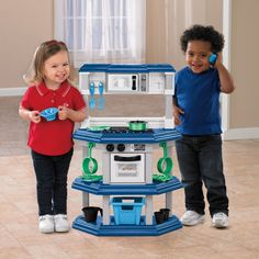 American Plastic Toys My Very Own Gourmet Kitchen - Play Kitchens at Hayneedle