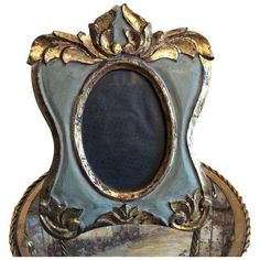 Italian Florentine Gilt Frame (€87) ❤ liked on Polyvore featuring home, home decor, frames, picture frames, painted picture frames, colored frames, gilt picture frames, colored picture frames and gray picture frames