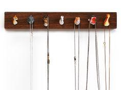 jewelry rack with animals