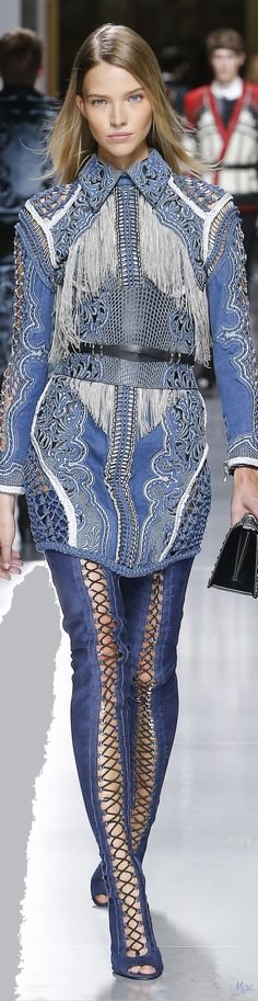 Spring 2018 Balmain | Menswear Collection