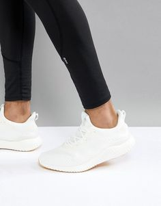 pretty nice c8a06 642d0 Shop adidas Running Alphabounce Sneakers In White at ASOS.