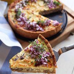 WW ViktVäktarnas 7 tips att komma i form Vegetable Pizza, Vegan Vegetarian, Quiche, Vegan Recipes, Clean Eating, Food And Drink, Tasty, Cheese, Snacks