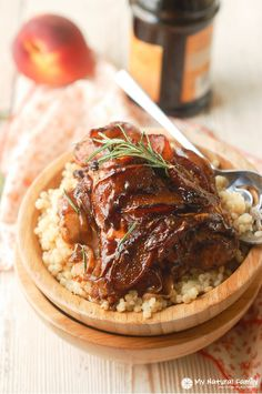 Peach Balsamic Rosemary Chicken Recipe