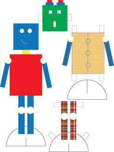 robot doll!  I plan to laminate and maybe put velcro to stick to something to have as a car travel idea