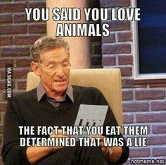 Vegan Maury meme lmao
