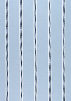 SAYBROOK STRIPE, Navy and Blue, W80787, Collection Solstice from Thibaut