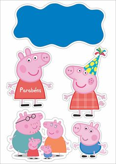 Peppa Pig is really a British isles toddler animated television system string instructed and made Tortas Peppa Pig, Bolo Da Peppa Pig, Cumple Peppa Pig, Peppa Pig Birthday Cake, Pig Party, Baby Party, Pig Cupcakes, Peppa Pig Family, Happy Birthday Wallpaper