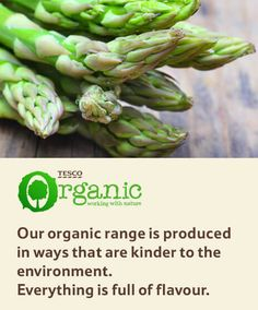 With over stores nationwide you're sure to find a Tesco near you. Or why not try our online grocery shopping and delivery service. Asparagus, Organic, Food, Studs, Essen, Meals, Yemek, Eten