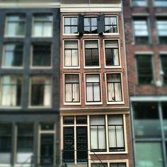 Anne Frank Huis in Amsterdam, Noord-Holland