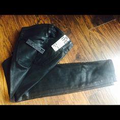 JOE'S ultra slim fit Coated black skinny ankle jeans. Joe's Jeans Jeans Skinny