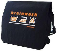 Mentalwear brainwash-läppäkassi (6,95€)