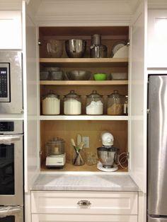 Baking Center & Appliance Garage