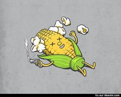 Suicide d'un épi de maïs - Corncob Suicide
