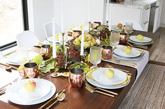 BSHT Thanksgiving Tablescape on a Budget - withHEART