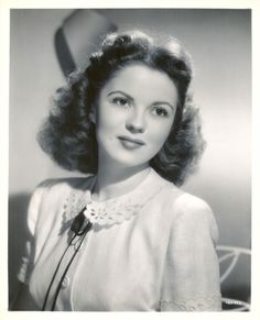 *SHIRLEY TEMPLE ~ as a young adult photo