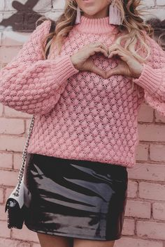 H&M Pink sweater, ba