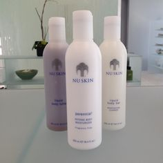 Keep your skin hydrated with Nu Skin Perennial, Liquid Body Bar and Liquid Body Lufra. Visit nuskin.com/thesource to learn how to keep your skin looking healthy and hydrated.