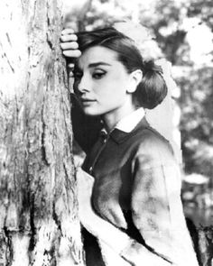 Audrey Hepburn in 'Love in the Afternoon', 1957.