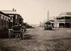 Ruthven and Margaret Streets intersection in Toowoomba, Queensland (year unknown). Old Photos, Transportation, Street View, Australia, History, Image, Old Pictures, Historia, Vintage Photos