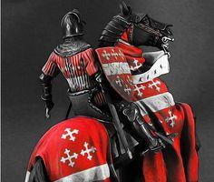 Medieval Knight  - Wall Tapestries - #Home #Decor #HomeDecor #WallDecor #WallTapestries #Tapestries #Gift #Giftideas #knight #templar #medieval #warrior #medievalage #templarknight #crusader