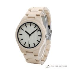 Purchase White Maple Wooden Watch Handmade from real natural Maple wood, it features the best in class Japanese quartz movement. Minimalist style that looks good in any setting. Make a statement without saying a word. Minimalist Fashion, Minimalist Style, Wooden Watches For Men, Skeleton Watches, Wood Gifts, Watch Brands, Other Accessories, Wood Watch, Gifts For Friends