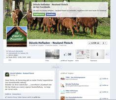 Im Düvels Hof in Garbsen bei Hannover finden Sie Fleisch aus extensiver Weidehaltung. Gemeinsam mit Inhaberin Düvel überarbeitete ich die bereits bestehende Fanseite bei Facebook.