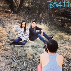 Photo Shoot For Cameron Boyce And His Sister February 22, 2014