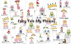 Fairy Tale Fry Phrases...TPT!