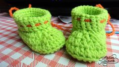 Free pattern: how to crochet baby booties for premature newborns