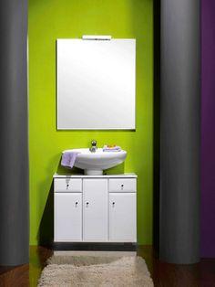 Mueble para lavabos con pedestal