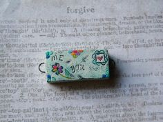 NEW Folk Art Love Letter Me and You Link by SweetBirchDesigns